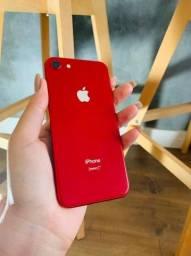 iPhone 8  64gb Vermelho-  Perfeito estado c/ 3 meses garantia!