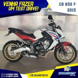 Título do anúncio: CB 650 F 2015 Branca
