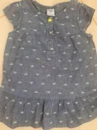 Vestido infantil carters