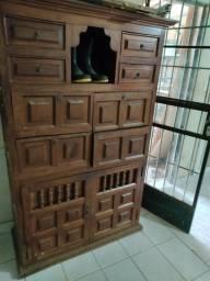 Título do anúncio: Estante madeira maciça