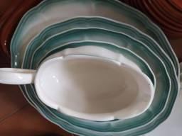 jogo de porcelana antiga completo novinho