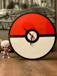 Relógio Temático Pokébola Pokémon !