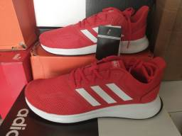 Tênis Falcon Adidas - Vermelho/branco - 41