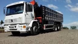 Caminhão munk MB 1723 Ótimo estado motor com 15000 km. Carroceria graneleira - 2001