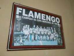 Quadro do Flamengo original do ano 1999 e original tirado no ano de 1999