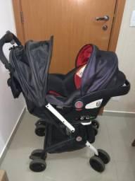 Carrinho + Bebê conforto + Base
