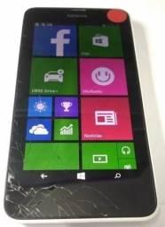 Smartphone Nokia N630 Tv E Fm Windows 8.1 (Tela Quebrada)