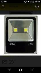 Oferta imperdível refletores de LED 100W só $ 100
