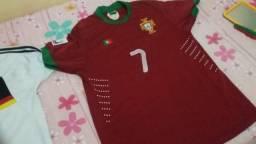 Troco camisa de Portugal e Alemanha