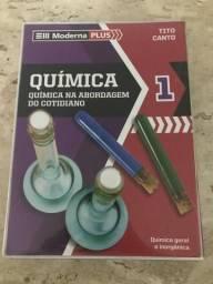 Box de Livros QUÍMICA 1: Química na Abordagem do Cotidiano - Moderna PLUS
