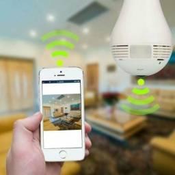 Super Câmera Lâmpada 3D Inteligente 360º LED (Leia o anúncio)