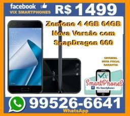 Top zenfone 4 4GB 64GB SnapDragon 660 234asct