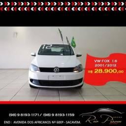 Vw - Volkswagen Fox Trend 1.6 Completo - Super Novo- Aceito seu carro e Financio - 2012