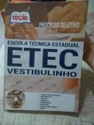 Apostila para vestibulinho ETEC