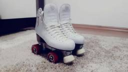 Patins Stilo Branco Número 37 (Rye Patins)