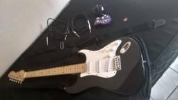 Guitarra vogga + acessórios
