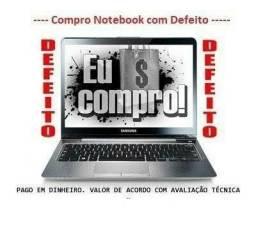 Compro Notebook para retirada de peças.