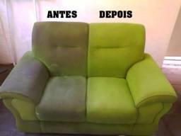 Lavagem a Seco de sofá e Colchões / Higienização de sofá e Colchão
