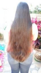 Cabelo mega hair humano natural