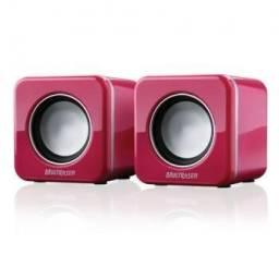 Caixa p/ Note Rosa ou Branco Power Cube Rosa Multilaser