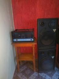 Amplificador Oneal op 3000 e 02 caixas