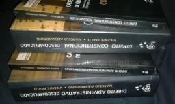 Livros de Direito Adm (21¤ edição) e Constitucional (10¤ edição)
