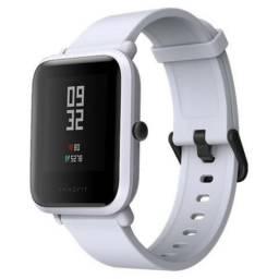 Relogio Xiaomi Amazfit Bip Smartwatch, nvo, passo cartão