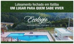 Ecologie Itatiba   Lotes a partir de 380m²   Pronto pra construir   Lazer completo e Lago
