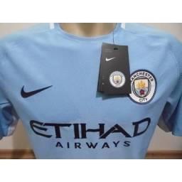 987e2b4e97 Camisa Nike Manchester City i 2017 2018 tamanho
