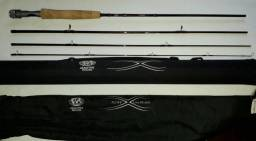 Fly Fishing #4 ou #5 kit completo