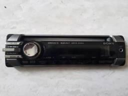 Frente Cd Sony com tripé Cdx-gt377x preço R$ 40,00