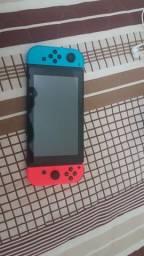 Nintendo Switch Neon - com 2 jogos