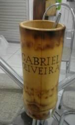 Lindos copos de bambu para tereré