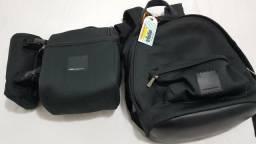 Conjunto mochila e bolsa térmica da Imaginarium