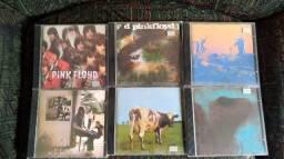 Coleção de CDs do Pink Floyd