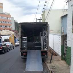 Rampa acesso caminhão