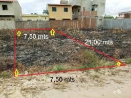 Excelente terreno com 157 m², bem localizado em São José da Coroa Grande