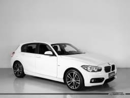 BMW 120iA Sport 2.0 ActiveFlex 16V Aut. - Branco - 2019 - 2019