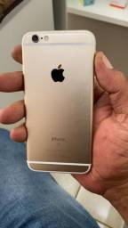 Vendo ou troco iphone 6s novo 3 meses de uso 128 GB