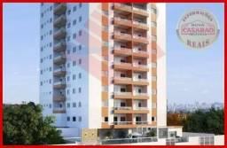 Apartamento com 2 dormitórios à venda, 57 m² por R$ 248.812,00 - Vila Guilhermina - Praia