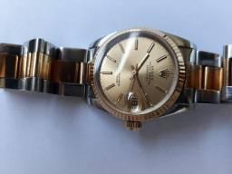 Relógio Rolex Ouro Safira 30mm modelo 12-68273