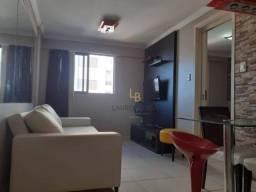 Edf Gales de Pajuçara. Apartamento com 1 dormitório para alugar, 32 m² por R$ 1.650/ano -