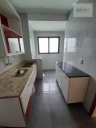 Apartamento com 2 dormitórios para alugar, 58 m² por R$ 1.500/mês - Centro - Pelotas/RS