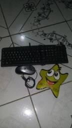 Teclado e mouse