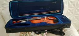Violino Alemão profissional. Passeio no cartão de crédito com acréscimo do comprador.