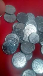 Vendo 50 moedas antigas barato!