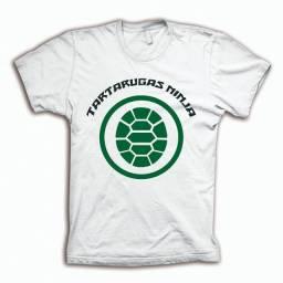 Camiseta Tartarugas Ninjas Filmes C30 Original