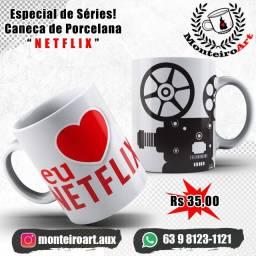 Canecas Personalizadas Series Netflix