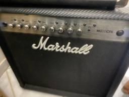 Amplificador marshall MG50CFX com Footswich 220v