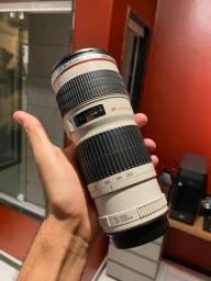 Lente 70 200 mm f4 canon